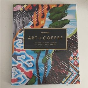Starbucks Art&Coffee Hardcover Book